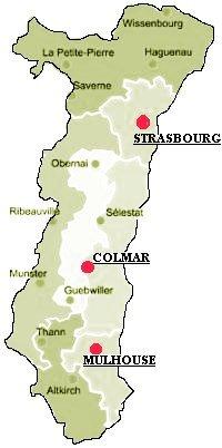 Carte Alsace Colmar.Unrpa L Alsace 2011